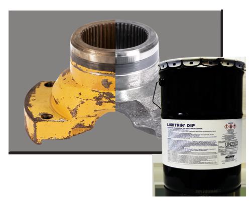 METAL KLEAN 330 - All Metal Safe Cleaner, Deoxidizer, and Degreaser